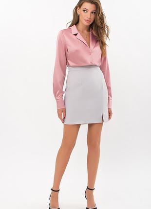 Элегантная шековая блуза (4 цвета) * отличное качество