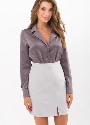 Элегантная шековая блуза (4 цвета ) * отличное качество