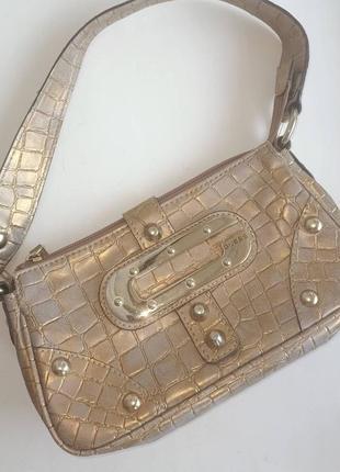 Guess mars mini маленькая сумочка сумка багет