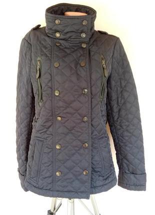 Женская стеганая демисезонная куртка 46-48 размера