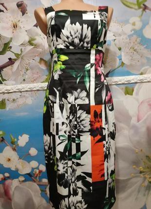 Красивое платье сарафан хлопок michaela louisa s-m