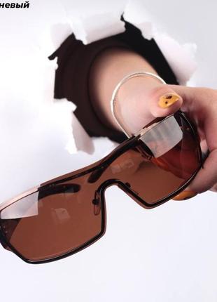 Стильные очки солнцезащитные, имиджевые женские
