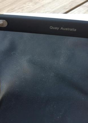 Стильные актуальные очки quay australia 🇦🇺 тренд хамелеон кошачий глаз zara h&m4 фото