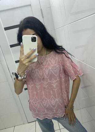 Лёгкая блуза ❤️ при покупке от двух вещей скидка 🛍