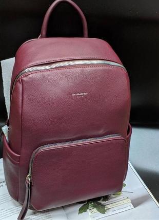 Рюкзак женский бордовый david jones 5845