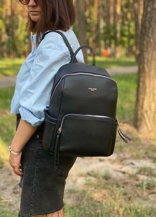Рюкзак женский черный david jones 5845