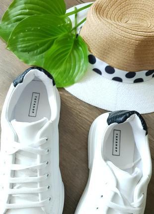 Кроссовки белые topshop, англия 40размер3 фото