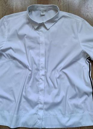 Рубашка премиум бренда 1863 by eterna (75% хлопка), р. 52