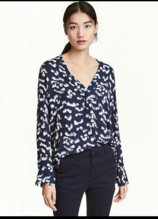 Легкая блуза из вискозы