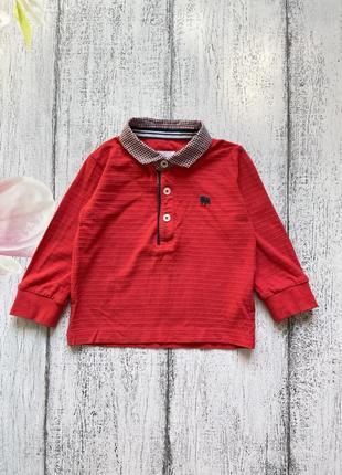 Крутая кофта реглан рубашка jasper conran 12-18мес