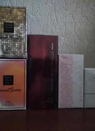 Распродажа 1 день . парфюмерная вода avon 50 мл 5 шт