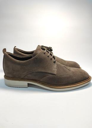 Замшевые туфли ecco классика туфлі чоловічі діловий стиль2 фото