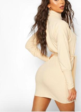 Платье футляр мини boohoo.