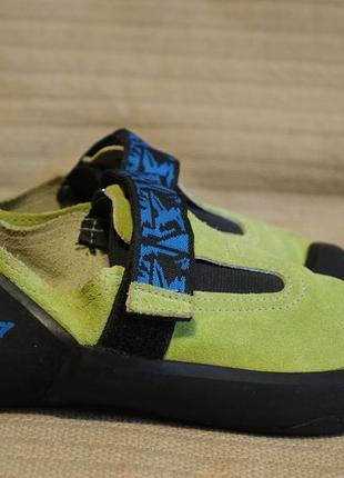 Фирменные кожаные скальные туфли  simond франция. 38 р. ( 24 см.)