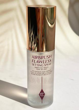 Фиксирующий спрей для макияжа charlotte tilbury airbrush flawless setting spray 34 мл