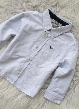 Качественная рубашка с длинным рукавом armani