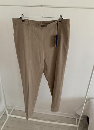 Брюки штаны в полоску легкие