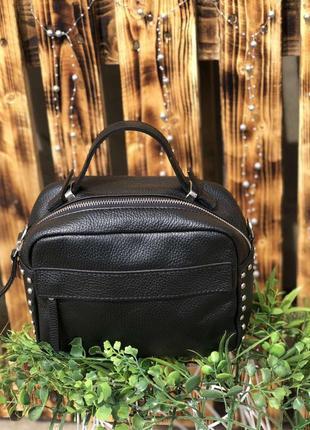 Женская кожаная сумка по скидке италия кроссбоди