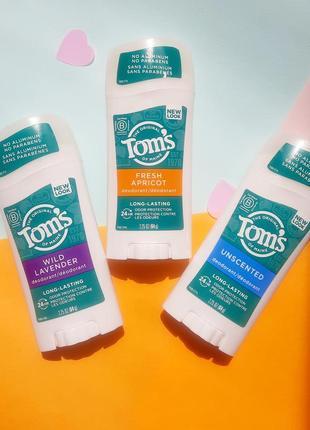 Натуральний дезодорант tom's usa