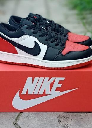 Женские кроссовки nike air jordan кожаные, черные, осенние