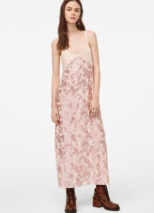 Платье в бельевом стиле zara limited edition