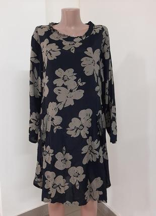 Вискозное платье,  l