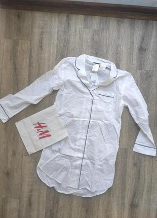 Блуза- платье h&m легкая