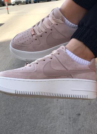Nike air force кроссовки найк женские форсы аир форс кеды г6 фото