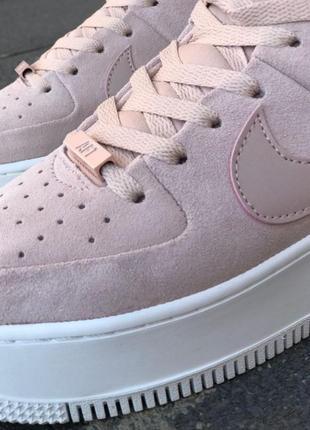 Nike air force кроссовки найк женские форсы аир форс кеды г2 фото