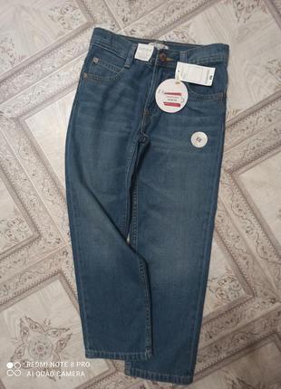 Крутые джинсы фирмы marks&spencer,8-9 лет