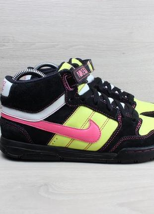 Высокие кроссовки / хайтопы nike оригинал, размер 38