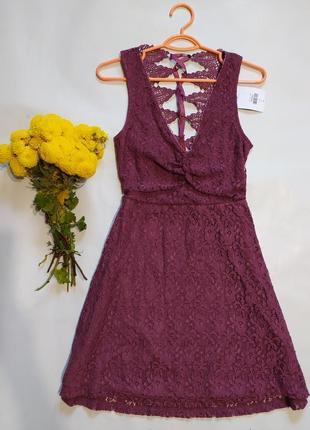 Кружевное платье на невысокую девушку