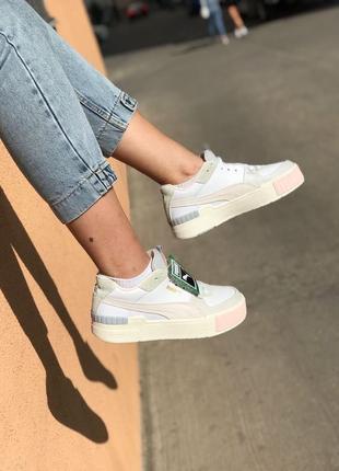 Puma cali sport кроссовки пума кали женские обувь взуття кеды