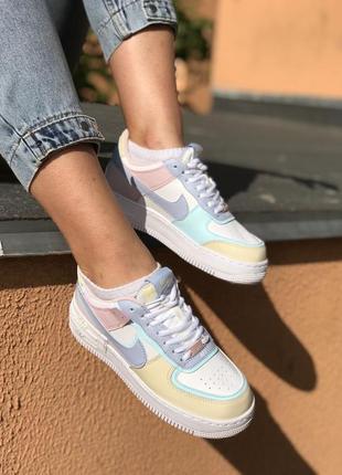 Nike air force shadow кроссовки найк женские форсы аир форс кеды обувь