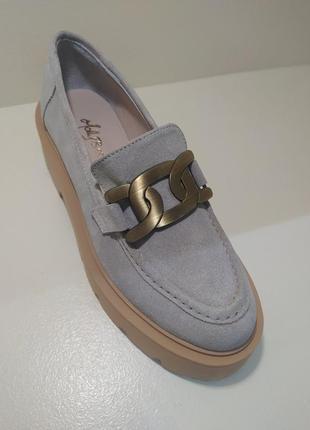 Натуральні замшеві туфлі
