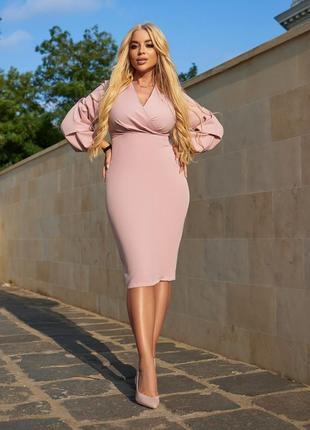 Элегантное красивое платье