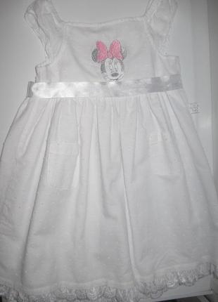 Платье нарядное для принцессы disney 92 см(h&m,zara, george,rebel)
