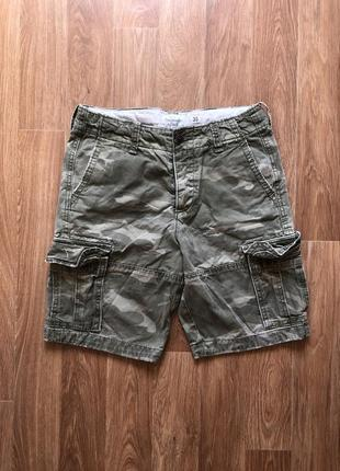 Карго шорты abercrombie & fitch