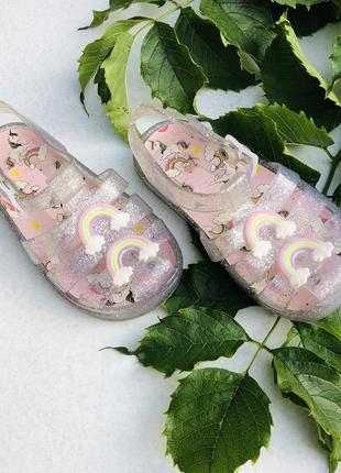 Босоножки аквашузы радуга