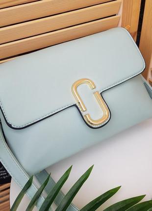 Скидка красивая мятная сумка кроссбоди