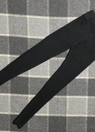 Женские лосины marks&spencer ( маркс и спенсер мрр оригинал черно-зеленые)
