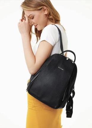 Рюкзак женский черный david jones 5848