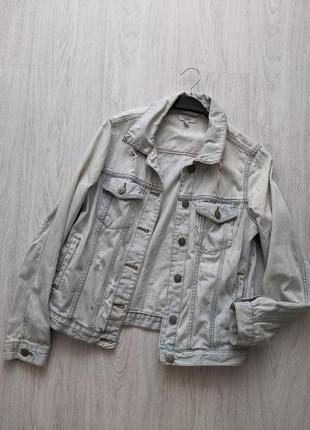 Стильная оверсайз куртка джинсовка джинсовая куртка ovs
