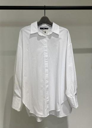 Белая рубашка хлопок