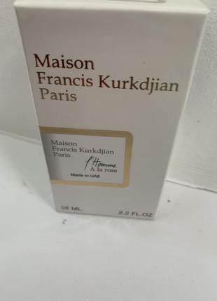Maison francis kurkdjian l`homme a la rose, мужской, 58 мл7 фото