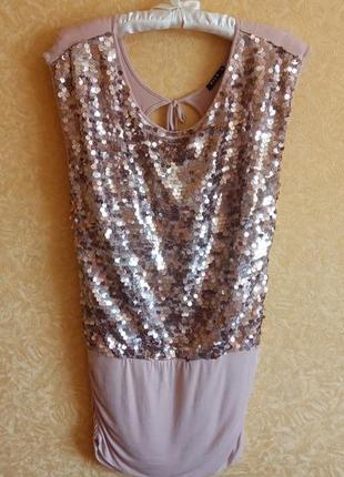 Шикарное платье в пайетка 👍тренд сезона👍