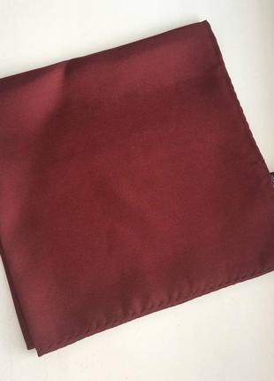 Карманный шелковый носовой платочек платок