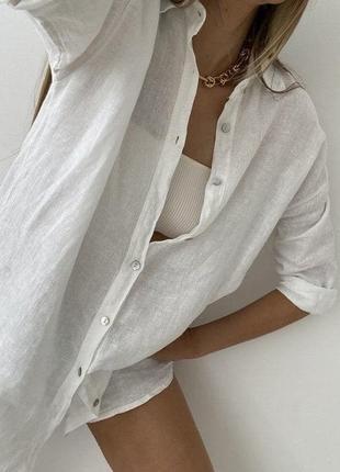 Рубашка,лён
