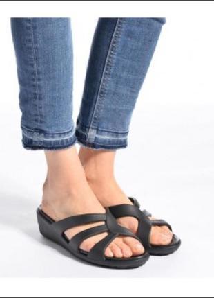 Женские кроксы шлёпанцы сланцы обувь для пляжа бассейна  оригинал новые