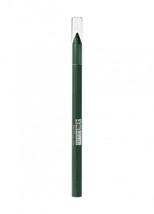 Карандаш для глаз зелёный maybelline tattoo liner